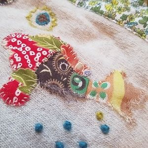 Anthropologie Sweaters - Anthropologie HWR patchwork sweater small